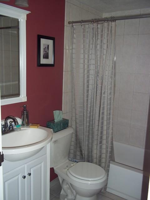 Condo Bathroom traditional-bathroom