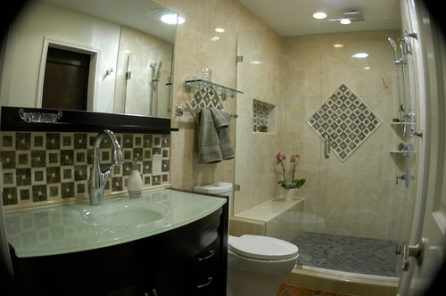 Austin Master Bathroom Remodel Aura Design Build Kitchen Bath Simple Bathroom Remodel Austin Tx