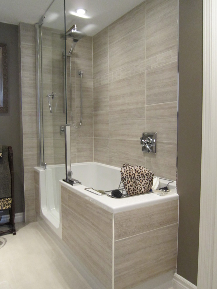 Condo Bathroom Renovation Contemporary Bathroom Toronto By Aneta Zygmunt Design