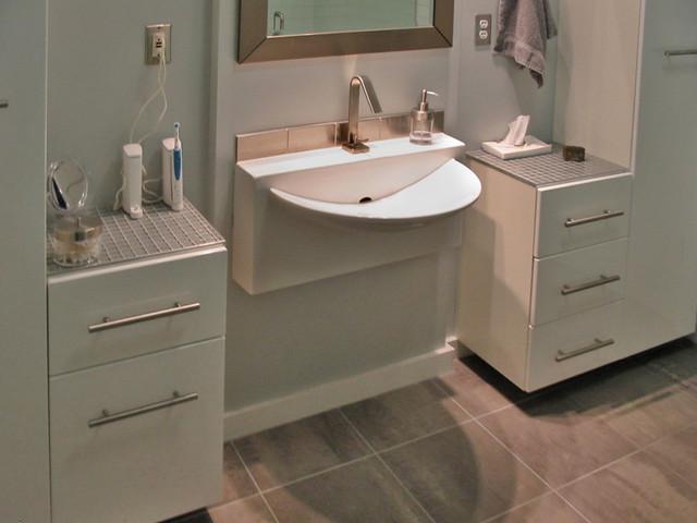 Condo bathrooms remodeling modern-bathroom