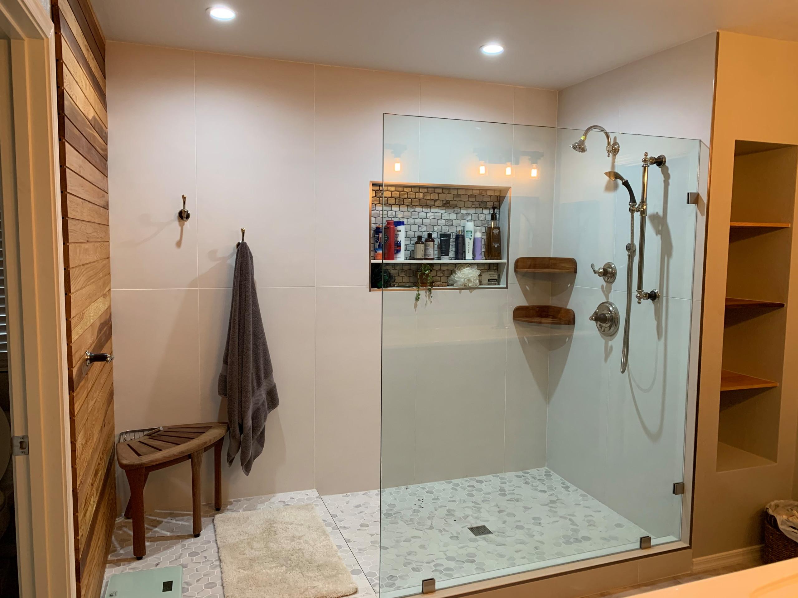 Condo master bath