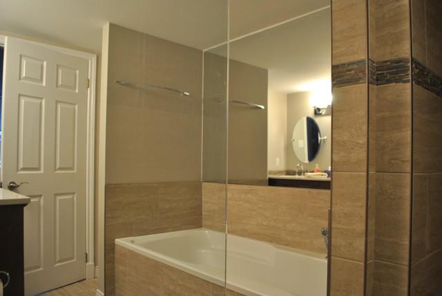 Condo Renovation contemporary-bathroom