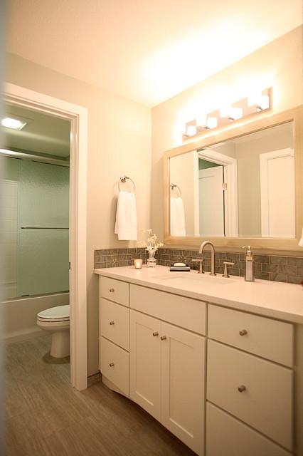 Condo Renovation - Queen Anne modern-bathroom