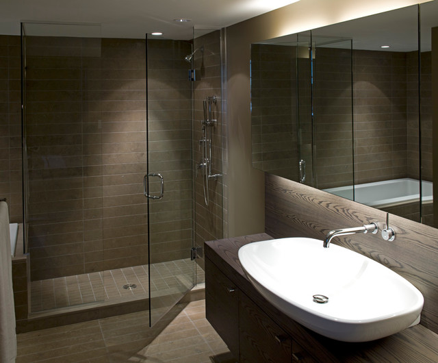 Condo Residence At Sage Building Ubc Modern Bathroom Vancouver By Kodu Design
