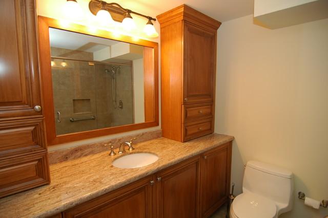 Condominium Bathrooms traditional-bathroom