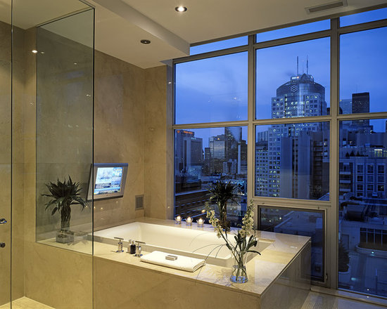 Tv In Bathroom Home Design Ideas, Pictures, Remodel and Decor