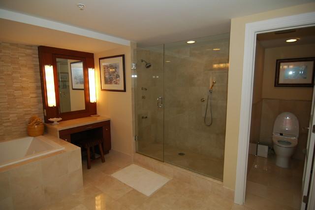 Condominium Renovation contemporary-bathroom