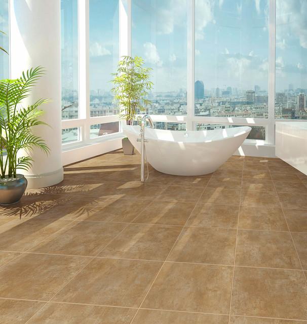 Congoleum duraceramic luxury vinyl flooring bathroom for Luxury vinyl bathroom flooring