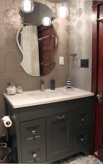 Congress Park Contemporary Bathroom Denver By
