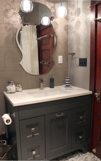 Congress Park contemporary-bathroom