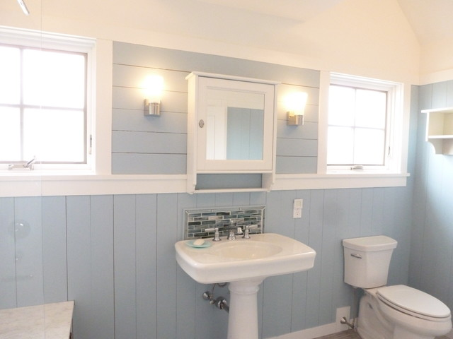Connecticut beach house new construction beach style bathroom other metro by fresh