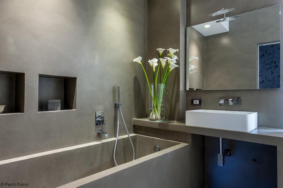 Contemporaneo Stanza Da Bagno - Contemporary - Bathroom - Rome on Stanza Da Bagno  id=93854