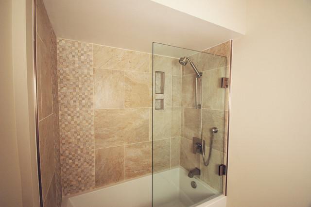 Contemporary Basemnet contemporary-bathroom