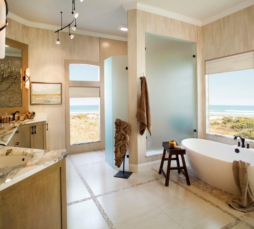 Contemporary Bath Remodel - Contemporary - Bathroom ...