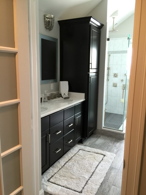 Bathroom Remodel With Freestanding Tub : Contemporary classic bath remodel free standing tub