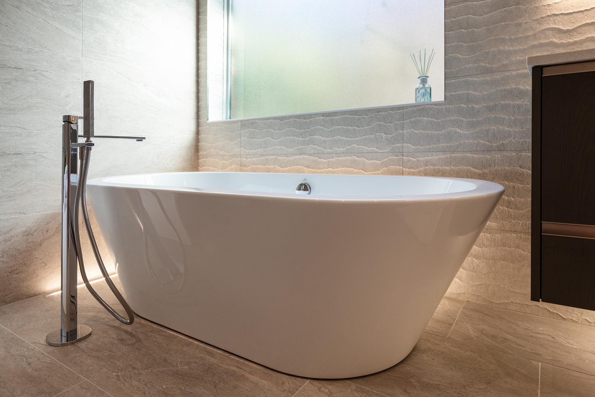 Contemporary Bath Renovation 2