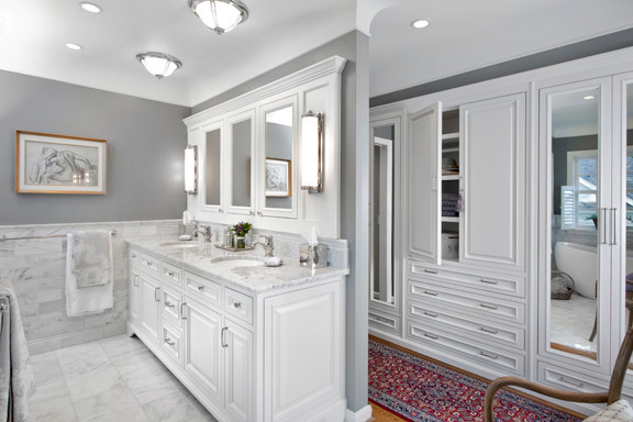 Contemporary Bath traditional-bathroom