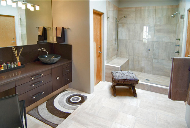 Contemporary Bath Santa Fe Nm Contemporary Bathroom