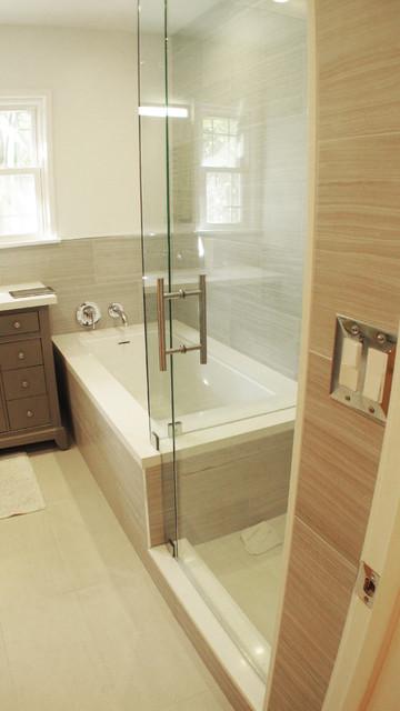 Contemporary Bath - Contemporary - Bathroom - Los Angeles - by The Alexander Building Co.