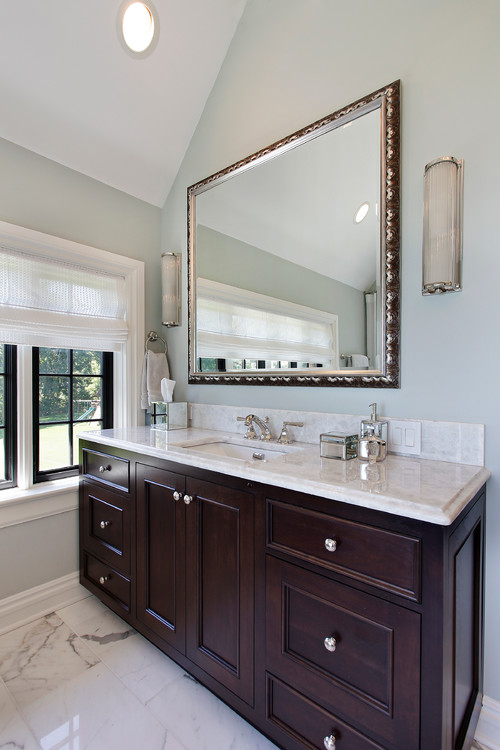 favorite paint color trends {the new transitionals}, Bathroom decor
