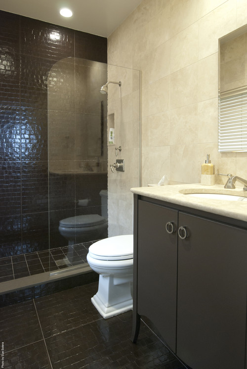 Houzz Contemporary Bathroom