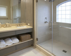 South Shore Residence contemporary bathroom