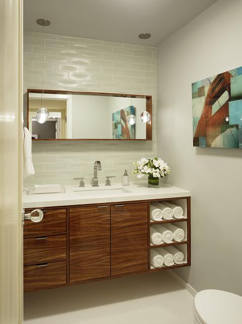 Showcase bathroom contemporary-bathroom