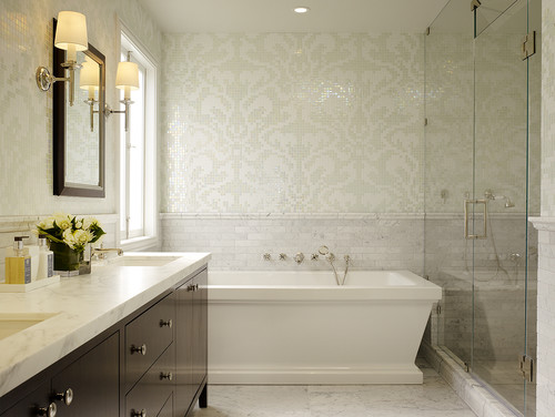 San Rafael Master bath contemporary bathroom