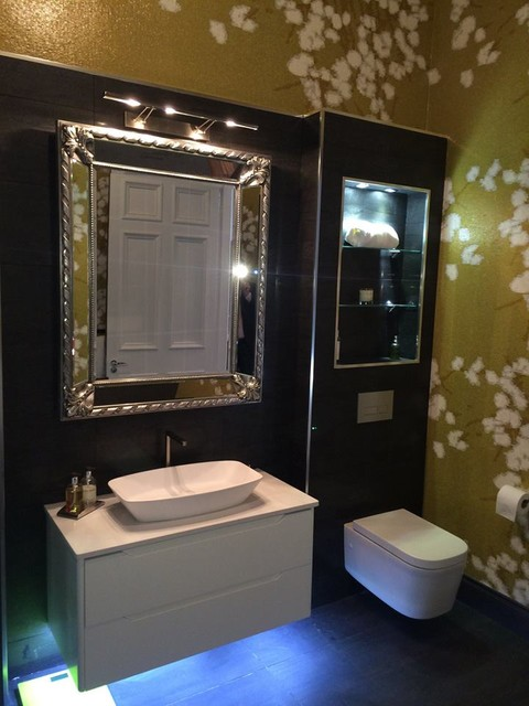 Contemporary Bathroom Contemporary Bathroom Glasgow By Bagno Design Scotland