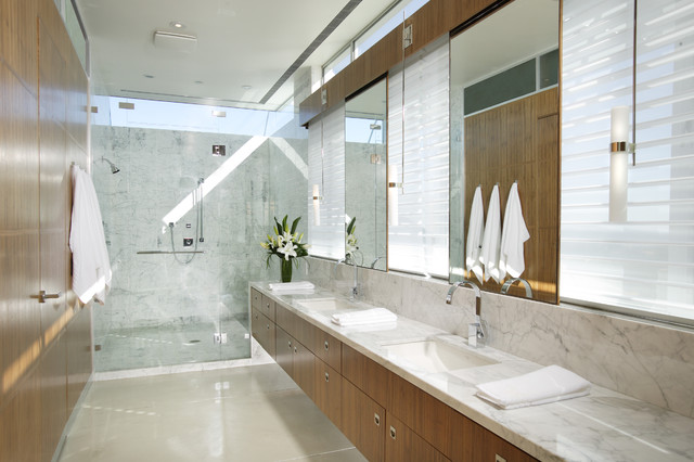 modern bathroom by Benning Design Associates