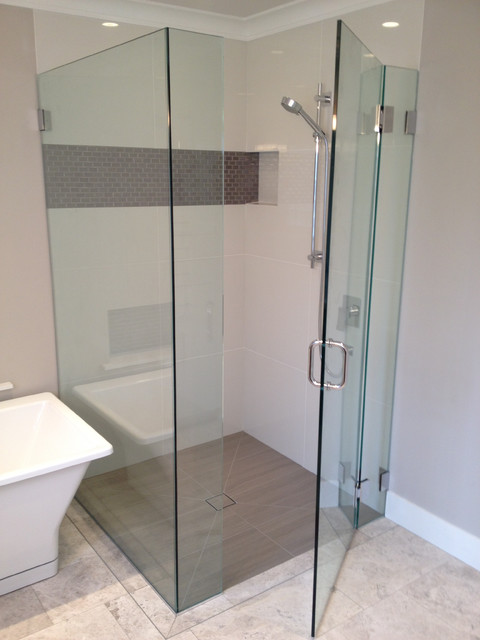 North vancouver curbless showers contemporary bathroom for Bathroom design ltd