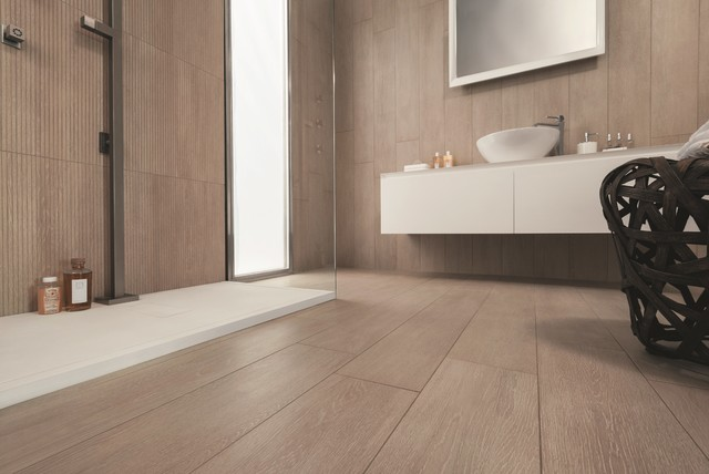 Timber look tiles allways cabin contemporary