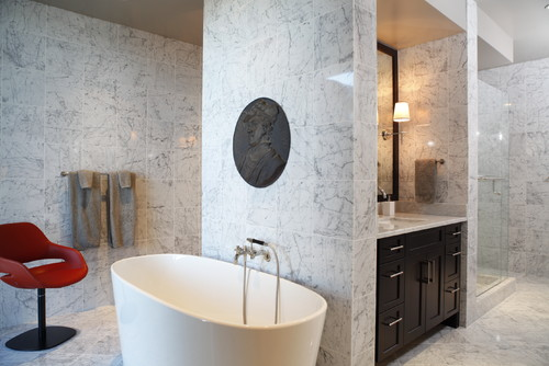 Four Seasons Mod -Master Bath contemporary bathroom
