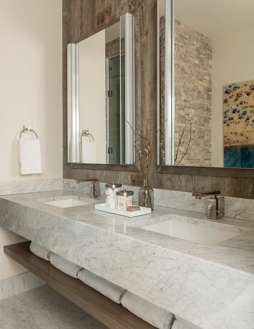 Contemporary bathroom for Bathroom design 7x12