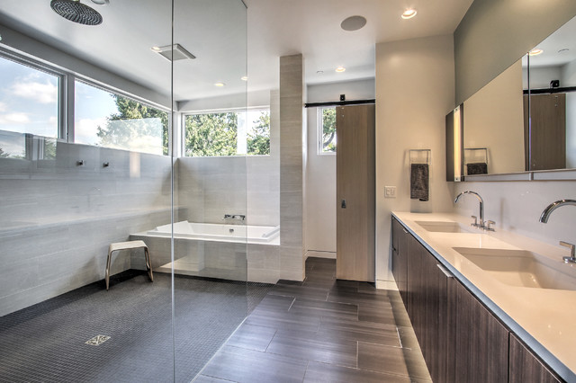 teh House - Contemporary - Bathroom - seattle - by Floisand Studio