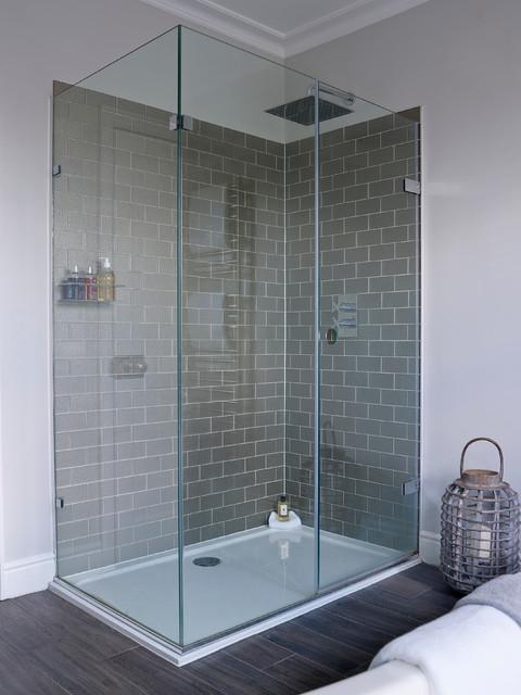 Town house richmond contemporary bathroom london for Bathroom interior design richmond va