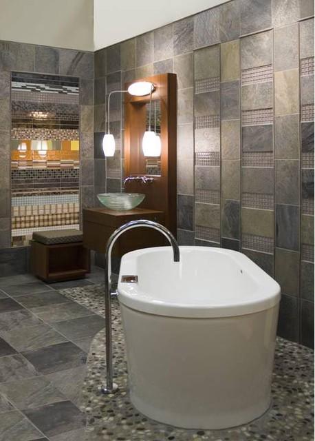 Contemporary Bathroom Free Standing Tub Contemporary Bathroom Seattle