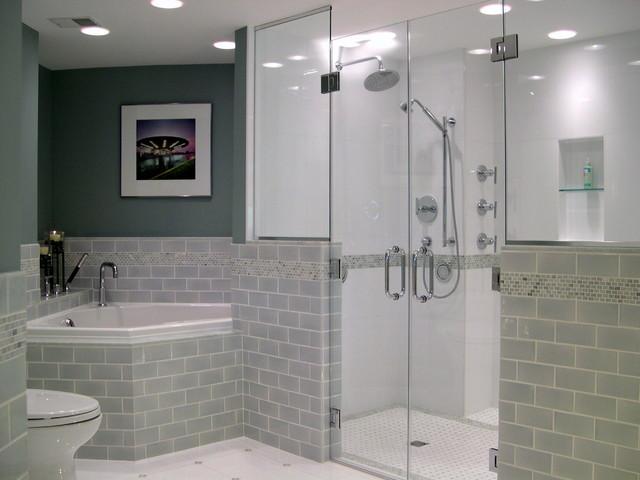 Contemporary bathroom contemporary bathroom for Bathroom ideas 7x7