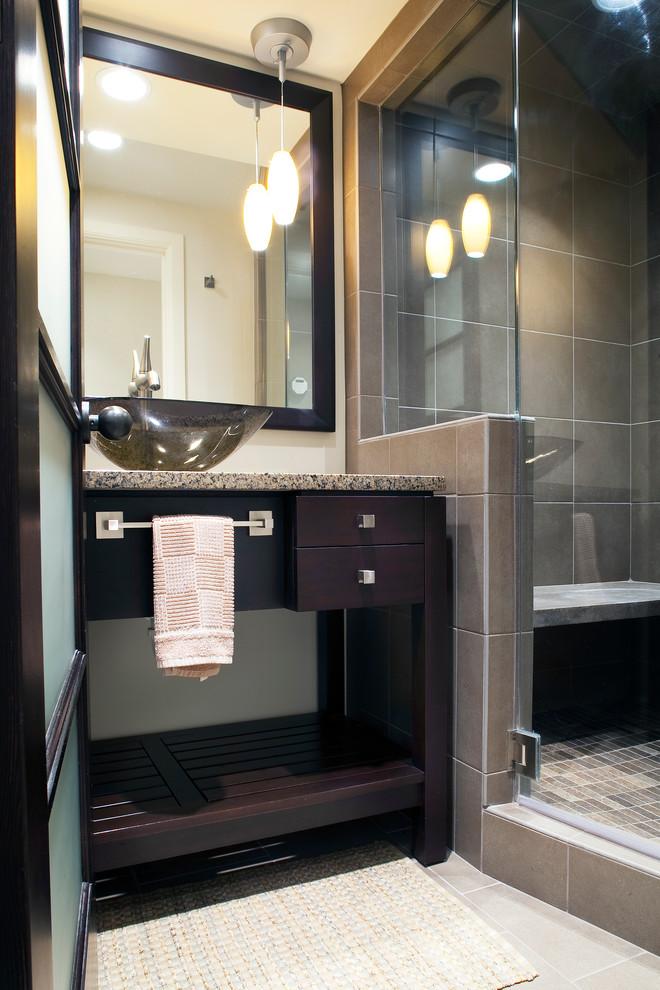 Contemporary Bathroom - Traditional - Bathroom - Omaha ...