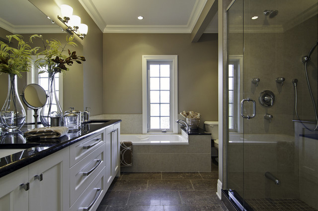 Johnstone Ensuite contemporary bathroom