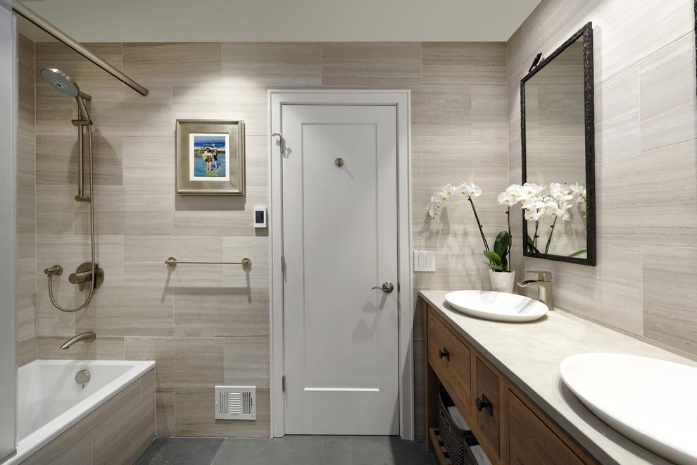 Contemporary Bathroom in Alexandria, VA - Contemporary ...