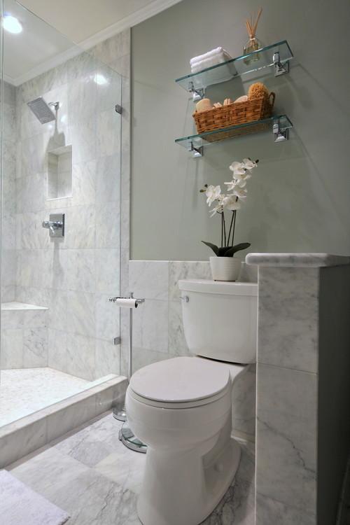 contemporary bathroom by Innovative Construction