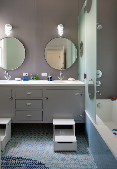 Kids' Bathroom contemporary-bathroom