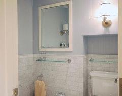 Boston Condo contemporary-bathroom