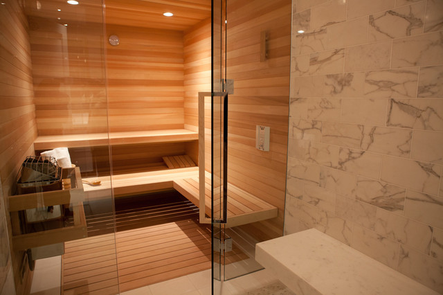 Steam Room Contemporary Bathroom