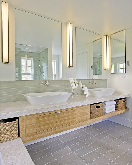 Contemporary Bathroom Mix contemporary-bathroom