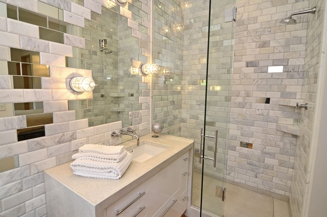 contemporary bathroom by Murphy & Co. Design