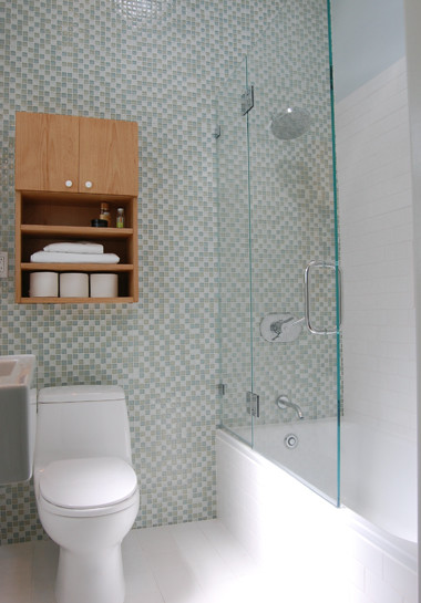Small San Francisco Bathroom Remodel Contemporary