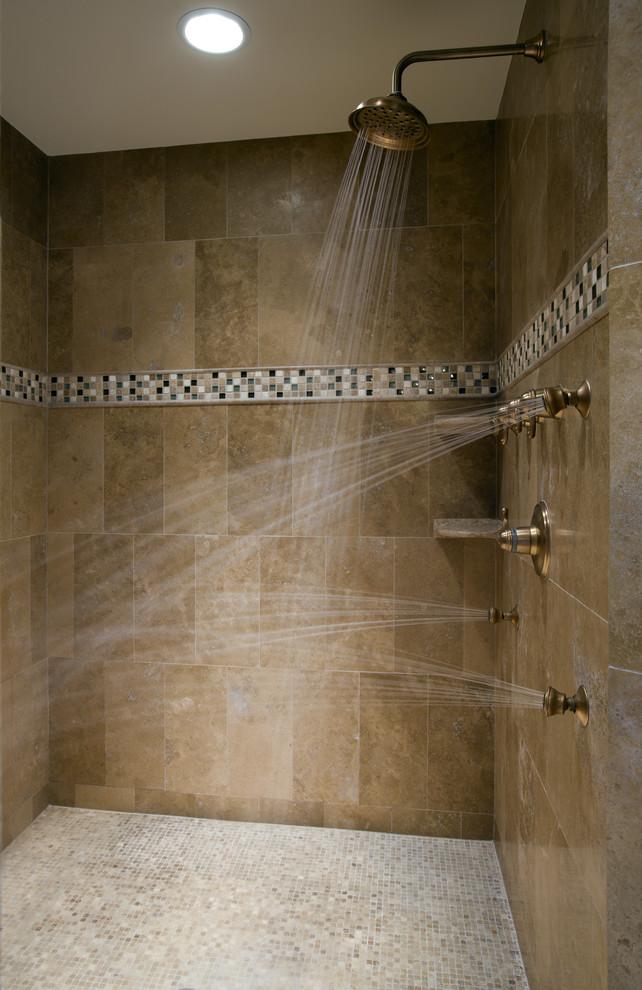 Bathroom - contemporary bathroom idea in Austin