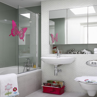 Contemporary bathroom - Decorer sa chambre pas cher ...